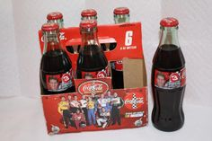 Coca Cola 1999 Dale Earnhardt Jr #3 6 pack FULL $20 Jimmy Johnson, Bottles For Sale, Dale Earnhardt Jr, Coca Cola, Canning, Drinks, Sports, Collection, Pictures