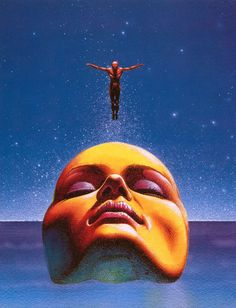 20 Covers by Philippe Caza for Science Fiction Novels (in French)