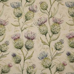 Save on our Winter Thistle Glen Traditional Fabric from Voyage Maison; perfect for creating Curtains & Blinds. Fabric Blinds, Curtains With Blinds, Curtain Fabric, Fabric Decor, Curtain Lining, Thistle Wallpaper, Voyage Fabric, Winter Wallpaper, Furniture