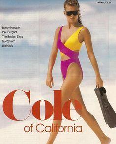 Parution ELLE années 80 # 2 - Renée Simonsen