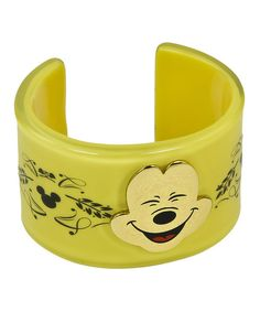 Disney fans will be delighted to wear this cool piece around town. Inspired by a beloved character, it adds familiar flair and playful style to any outfit.PlasticImported