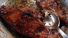 Roast Lamb With Lamb Sausage Crust And Fresh Grape Pan Sauce Recipe ...