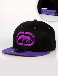 e0554d1e5fa Ecko Unltd. Logo Snapback Black Purple €30