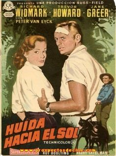 Huida hacia el sol (1956) EEUU. Dir: Roy Boulting. Aventuras - DVD CINE 126