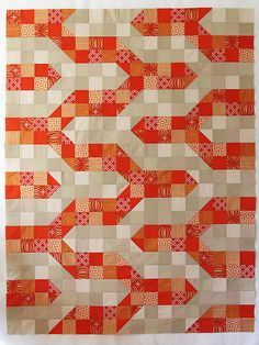 I love this tutorial - taking inspiration from an everyday object and creating a beautiful quilt!