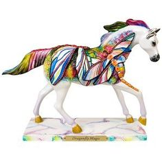 Trail of Painted Ponies Dragonfly Magic Figurine 6.3-Inch by Enesco,