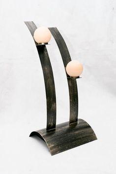 Výsledek obrázku pro kovové svícny a dekorace