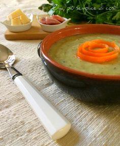 Vellutata+zucchine+e+patate,+ricetta+semplice+saporita Cantaloupe, Fruit