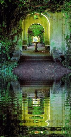 ¡Qué relajante! Ojalá todos pudiésemos tener un paisaje como este en nuestro jardín, verdad? #watergarden