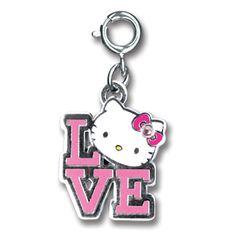 CHARM IT! Hello Kitty Love Charm at shopcharm-it.com