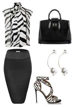 """""""Untitled #605"""" by mchlap on Polyvore featuring Lanvin, Givenchy and Louis Vuitton"""