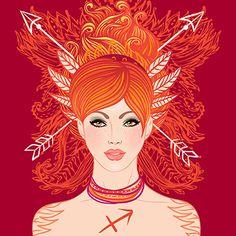 Zodiac: Sagittarius, The Archer (Arist-Varvara Gorbash)