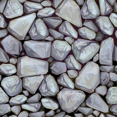 Texture Of Stones In Grey Colors