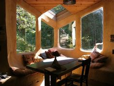 "an ode to the beauty of cob and straw bale eco home building. ""Cob, cobb or clom (in Wales) is a..."