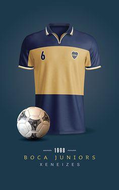 Boca Juniors Soccer T-Shirts / Printable / Wall Art / Poster / Decor Clothing Photography, Retro Shirts, Football Kits, Messi, Soccer, Printables, Mens Tops, Sport, T Shirt