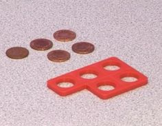 Money and Numicon - finding the correct value.Lay out coins in the same array as the Numicon shape. This helps with visualisation of the amount. Numicon Activities, Money Activities, Math Resources, Classroom Activities, Numeracy, Early Years Maths, Early Math, Teaching Money, Teaching Math