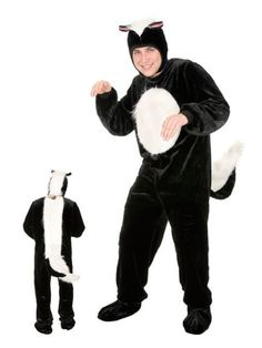 Check out Skunk Costume - Wholesale Animal Costumes for Adults from Wholesale Halloween Costumes