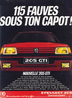Peugeot 205 GTI.