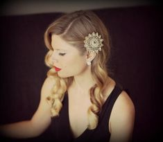 Vintage Hair Accessories: diy vintage hair accessories tutorial