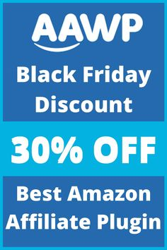 If you are looking to create beatutiful affiliate product tables and comparison tables then this Black Friday AAWP is offering a massive 30% off on all its plans. The Black Friday discount will start on From November 24th and will end on December 2nd, 2020. It is the best amazon affiliate plugin | AAWP Black Friday Sale | AAWP Back Friday Deal | AAWP Cyber Monday Discount | AAWP Cyber Monday Sale | AAWP Cyber Monday Deal | AAWP Amazon Affiliate Plugin | AAWP Pricing and Plan |