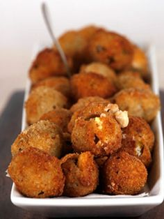 Fried Provolone-Stuffed Olives