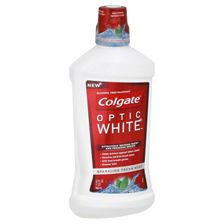 B2 Colgate Optic White Mouthwash @ $7.49 B1 Optic White Toothpaste @ $5.49 = $20.47 Use $5/$20 toothpaste, toothbrush or floss CVS crt Stack (2) $2/1 Colgate Mouthwash 1-18 SS & (1) $0.50/1 Colgate Toothpaste 2-1 SS Pay $10.97, Get $10 ECB's = $0.32 each!