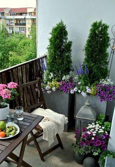 Adorable 80 Small Apartment Balcony Decorating Ideas on A Budget https://decorapartment.com/80-small-apartment-balcony-decorating-ideas-budget/ #smallspacegardening