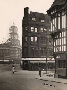 Nottingham Market Square, 1927/28 My Research Room's photo.