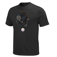 0f8e4140f Get this Pittsburgh Steelers Rival Vision II T-Shirt at  ThePittsburghFan.com Steelers Helmet