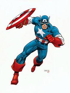 captain america illustration - Google Search