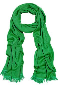 Other green scarf