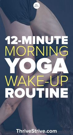 Looking for a morning yoga workout routine for beginners? This yoga workout will help you get the blood flowing and improve your flexibility. Wake up with yoga for stress, abs, and fat-burning. workout yoga, yoga for begginers, be yoga Yoga Bewegungen, Yoga Pilates, Sup Yoga, Yoga Meditation, Vinyasa Yoga, Pilates Workout, Dumbbell Workout, Yoga Art, Morning Yoga Workouts