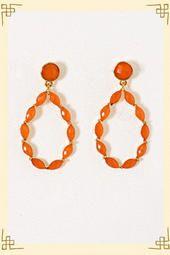 Orange Blossom Dangles