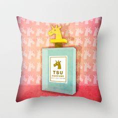 Scent Of Unicorn Throw Pillow