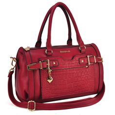 Sally Young New Design Bowling Bag With Belt - Red Barrel Bag, Bowling Bags, Baggage, News Design, Fashion Handbags, Sally, Crocs, Shopping Bag, Latest Fashion