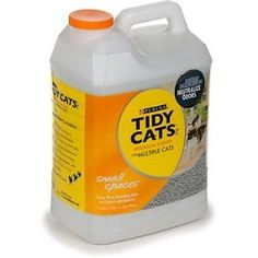 Tidy Cat litter...I've actually had people come into my home and not know I have X5 cats, and the litter box is in the closet right next to the front door!!!
