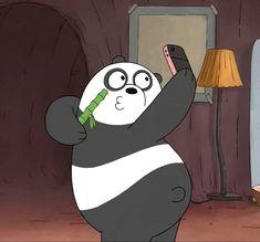 Panda is me when i taking a selfie