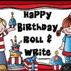 A free SAMPLER of a much larger product!! Who doesn't love to celebrate a birthday? This is a writing center inspired by my students.  Students roll a character, a setting, and a plot to write creative stories. Writing board and writing papers included.