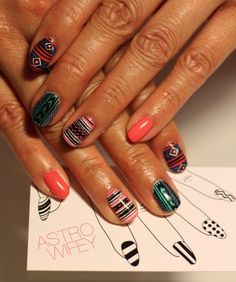 more amazing AstroWifey nail art.