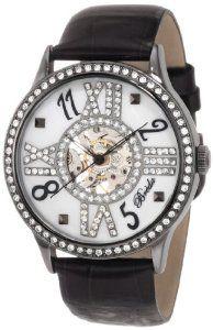 """Discount Breda Women's 5171-gun/black """"Audrey"""" Rhinestone Bezel Mother-Of-Pearl Dial Mechanical Hand-Winding Watch Find Best Deals - http://greatcompareshop.com/discount-breda-womens-5171-gunblack-audrey-rhinestone-bezel-mother-of-pearl-dial-mechanical-hand-winding-watch-find-best-deals"""