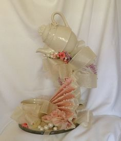 Items similar to Wedding Centerpiece -Teacup Centerpiece - Wedding Centerpiece - Floating Teapot Centerpiece - Alice in Wonderland Wedding Centerpiece on Etsy Wedding Shower Centerpieces, Wedding Table, Teapot Centerpiece, Cup And Saucer Crafts, Floating Tea Cup, Teacup Crafts, Alice In Wonderland Wedding, Flower Crafts, Diy Gifts