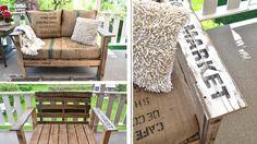 Depuis quelques années, les palettes inspirent les designers en herbe ! Matière brute, facile à trouver et à travailler, elles se transforment en canapé, table basse ou étagère. Envie de vous inspirer ? Retrouvez nos 30 idées préférées de meubles palettes trouvées sur Pinterest.