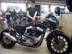Sporty 1200 Cafe Racer from Japan - via Rocket Garage