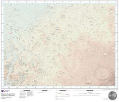 Cartografia de Marte (Foto: Flickr/Ordnance Survey)