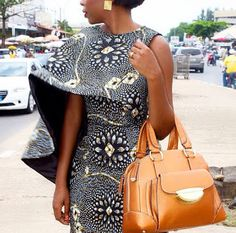 It is Fashion Double Delight! Get Gorgeous with Eye-Catching Ankara & Aso-Ebi Styles - Wedding Digest Naija Mehr African Dresses For Women, African Print Dresses, African Attire, African Wear, African Fashion Dresses, African Women, African Prints, Ankara Fashion, African Inspired Fashion