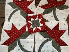 A new project in the making!  I can't wait to see it finished!  Heartspun Quilts ~ Pam Buda