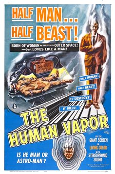 The Human Vapor....1960's Japanese Sci Fi.  There is more to classic Japanese Sci-Fi than Godzilla.