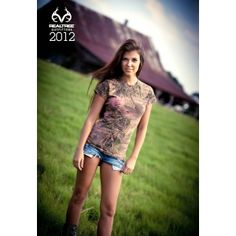 Realtree Girl Camo Overdyed T-Shirt