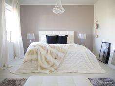Coconut White: Toivepostaus: Nahkainen sängynpääty valkoisena