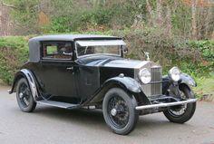 1929 Rolls-Royce 20hp Barker 2dr Coupe GFN10